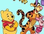 لعبة تلوين الدب بووه في حفلة الربيع