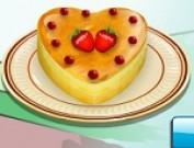 لعبة طبخ كيكة الحب
