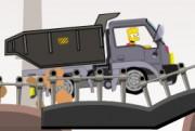 لعبة شاحنة المصنع