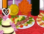 لعبة تزيين طاولة العروسة