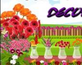 العاب ديكور محل الازهار