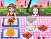 لعبة مطعم فطائر الاطفال الصغار