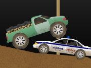 لعبة سيارة تهريب المتسللين على الحدود