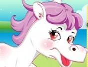 لعبة تلبيس الحصان الصغير