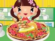 لعبة طبخ بيتزا البنت الصغيرة