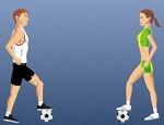 لعبة مهارات ترقيص كرة القدم
