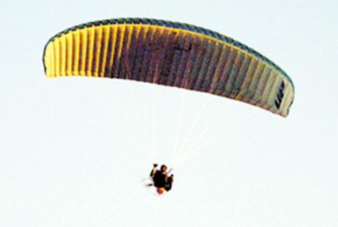 لعبة الطيران الشراعي