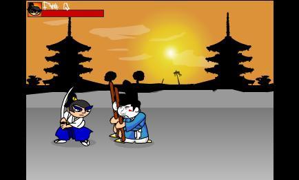 العاب فلاش قتال الساموراى