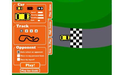 لعبة السيارات السريعه