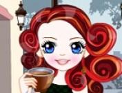 العاب تلبيس عاشقة القهوة