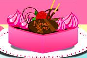 لعبة تزيين الكيكة الحلوة