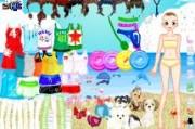 لعبة ملابس الشاطئ