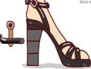 لعبة تكسير كعب الحذاء