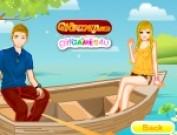 لعبة تلبيس عاشقين على القارب