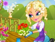 لعبة تلبيس فتاة الورود