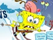 لعبة تزلج سبونج بوب على الجليد
