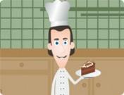 لعبة طبخ كيكة الشوكولاتة الخيالية