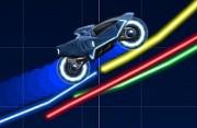 لعبة سيارة عالم النيون