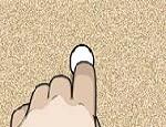 لعبة كرة الاصبع