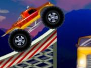 لعبة شاحنة القفز فوق السيارات