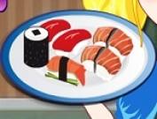لعبة مطعم السوشي