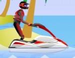 لعبة سباق دراجات الماء