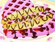 لعبة تزيين الحلويات البلجيكية