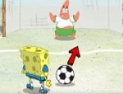 لعبة كرة قدم سبونج بوب وبسيط