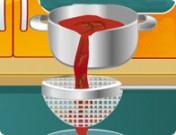 لعبة طبخ سلطة الفواكه و الفراولة