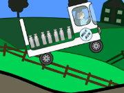 لعبة سيارة نقل الحليب