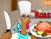 لعبة طبخ الديك الرومي