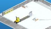 لعبة سيارة الثلج