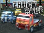 سباق الشاحنات 3d الجديدة