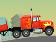 لعبة شاحنة التوصيل