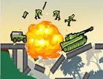 لعبة تفجير الجنود على الجسر 2