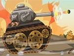 لعبة الدبابة ضد الزومبي
