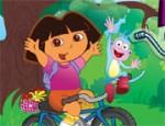 لعبة دراجة دورا وموزو