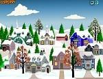 لعبة ديكور مدينة الثلج