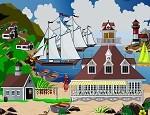 لعبة ديكور جزيرة الاحلام