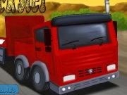 لعبة شاحنة المقطورة