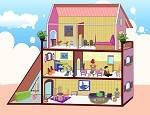 لعبة ترتيب المنزل الصغير
