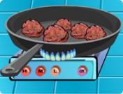 لعبة طبخ كرات اللحم