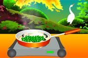 لعبة طبخ الارز الاسباني