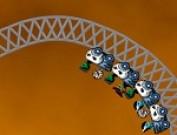 لعبة مغامرات قطار الموت للبنات