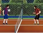 لعبة تنس كرة قدم