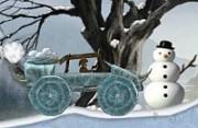 لعبة سيارة العصر الجليدي