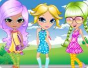 لعبة قص شعر الصديقات الثلاثة