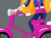لعبة دراجات للبنات فقط