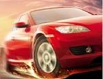 لعبة سباق تفحيط السيارة الحمراء