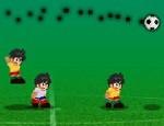 لعبة كرة قدم الصغار